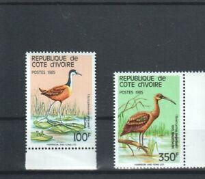 IVORY COAST BIRDS 1985 MNH (016)