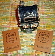 2003 Boyds Bear Route 33 1/3 Villages Mr Posties Maildrop Figurine Village 19912