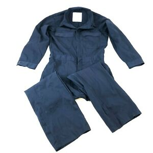 US Navy Utility Coveralls Navy Blue Utility Overalls Military Jumpsuit Small 38R