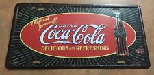 DRINK COCA COLA NOVELTY NUMBER PLATE COKE DELICIOUS & REFRESHING SOFT DRINK SODA