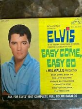 Elvis Presley Easy Come, Easy Go 6 Song EP , RCA EPA-4387