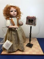 "13.5"" OOAK Artist Doll Porcelain Flora"" By Christa Canzio Red Head Puppet Show"