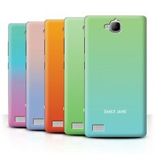 Personalised Custom Ombre Colours Phone Case for Huawei Honor 3C/Initial Cover