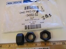 "3 PCS IN 1 FORD BAG ""NUT"" 3/4""-10THRD. LOCKING 34992-S2, M 89 HF, FREE SHIPPING"