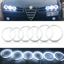LED Xenon White CCFL Angel Eyes Halo Rings Kit For Alfa Romeo 159 2005-2011 DRL