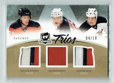 10-11 UD The Cup Trios  M Tedenby--Jacob Josefson--Nick Palmieri  /10  Patches