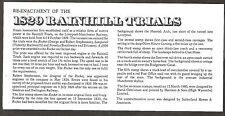 1980 TOPICAL RAILROAD GREAT BRITAIN RAINHILL TRIALS COMMEMORATIVE COVER