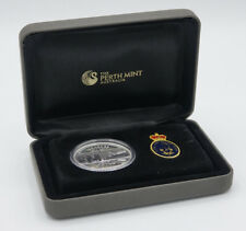 Royal Australian Navy 100 Years Coin & Badge Set (1$ Australia 2011)
