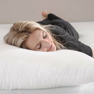 Duck, Goose & Hungarian Feather Pillows Extra Filled Hotel Quality Bed Pillow