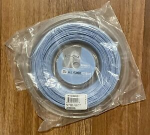 Luxilon ALU Power 125 16L Reel (1.25mm Tennis String) 220m/726ft. Ice Blue, New