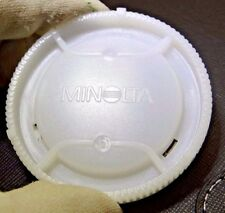 Minolta Rear Lens Cap A mount Maxxum White 28mm f2.8 50mm f1.7 AF  Free Shipping