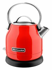 KitchenAid Stainless Steel Electric Water Tea Kettle W/Base KEK1222HT Hot Sauce
