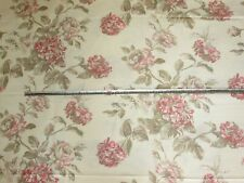 'Mottisfont' Antique Rose, Baker Lifestyle Linen Cotton Furnishing Fabric 1.8 mt