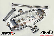 Milltek MINI Cooper S R53 Stainless Steel Cat Back Exhaust - non resonated 2003