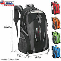36L Sport Backpack Travel Hiking Camping Shoulder Rucksack Waterproof Outdoor