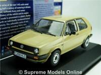 CORGI VA13602A VOLKSWAGEN GOLF MK2 MODEL CAR 1:43 SCALE VANGUARD NEVADA BEIGE K8