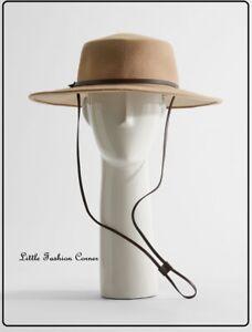 🌟Weekend MAX MARA   Cloche Hat  100% WOOL in Camel Brown   size 57  ''LORA''