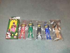 Power Rangers Dino Charge Kyoryuger Heroes Set Red Pink Black Blue Gold