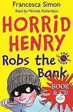 Horrid Henry Robs the Bank (book and cd), Simon, Francesca, Very Good condition,