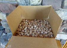 """Case of 2700 White Birch Unfinished Natural Wood 1-1/4"""" Cabinet Knobs Pulls"""