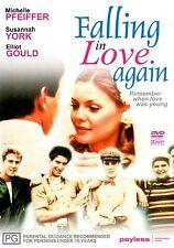 FALLING in LOVE AGAIN - DVD - Michelle PFEIFFER 1980 Romantic COMEDY Film