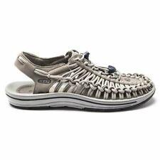 New Mens Keen Grey Uneek Snk Suede Nylon Sandals Sports Slip On