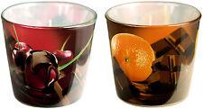 """Duftkerze - Chocolate mit den Düften """"Cherry"""" und """"Orange"""" 2er Set"""