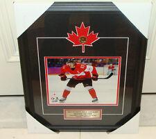2014 Winter Olympics Gold Medal Sidney Crosby Hockey Canada 8x10 Frame Loonie