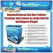 Website webproject Twitter scheduller Buzz Tool E-Licence Minisite sales page