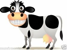LAUGHING COW A5   IRON ON T SHIRT TRANSFER LIGHT GARMENTS