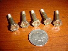 5 Aircraft shear bolts 1/4-28 x 3/4 grip Nas 1304 10 new fasteners rat hot rod