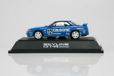 1:43 Ebbro #09 Calsonic Nissan Skyline GT-R BNR32 blue IMPUL 12 NISMO rare