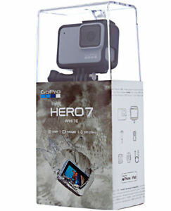 BRAND NEW SEALED GoPro HERO7 Hero 7 White Waterproof Action camera + 32GB CARD