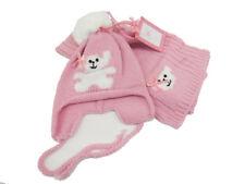 Sciarpa e Cappello Bambina Laura Biagiotti Dolls X8592 Rosa