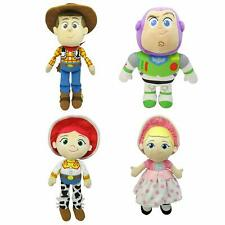 "Disney Toy Story 8"" or 15"" Plush Woody, Buzz, Jessie Or Bo Peep - Pick Your Once"