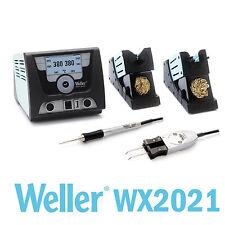 Weller WX2021 Stazione Saldante 2 canali con WX2, micro stilo WXMP e pinza WXMT