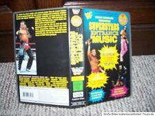 WWF Wrestling VHS Superstar Entrance Music englischer Ton WWE WCW AWA TNA ECW