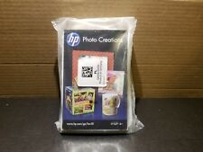 """HP Photo Creations 4"""" x 6"""" Inches New Photo Paper q6638-60009"""
