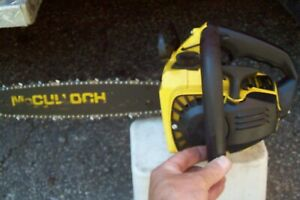 McCulloch Mini Mac 35 chainsaw parts only runs 160PSI  25 110 120 130 140