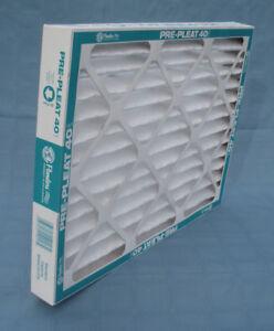 """15"""" x 20"""" x 2"""" Flanders Furnace Air Filter, Pre-Pleat 40, MERV 8, Pack of 12"""