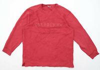 Fat Face Mens Size S Cotton Red Vintage Sweatshirt