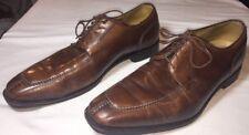 Men's Neil M. Norwegian Split Toe Oxfords 13 D Brown Leather Shoes