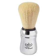 Omega S-Brush Synthetic Shaving Brush Silver Large 10083