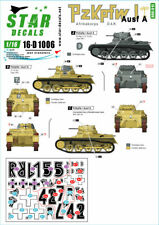 Star Decals 1/16 German Pz.Kpfw.I Ausf.A # 16-D1006
