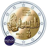 2 euros commémorative MALTE 2020 - Skorba - UNC - 100 000 exemplaires seulement
