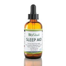 Bio Naturals Melatonin Liquid Sleep Aid w/ L-Theanine, Inositol & Aloe Vera NEW