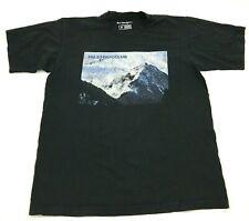 Mile High Club Shirt Size Large L Black Short Sleeve Tee Adult Men Mountain USA