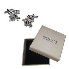 Mens Oriental Chinese New Year Cufflinks & Gift Box - Year Of Dragon By Onyx Art
