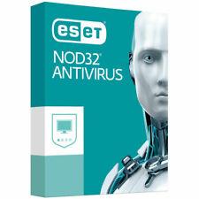 ESET NOD32 ANTIVIRUS 1 PC 2 YEAR ( TWO YEAR ) Windows and MAC