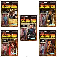 The Goonies 80s Kult Film 5 Figuren Set Reaction 3 3/4 Inch Figur Funko
